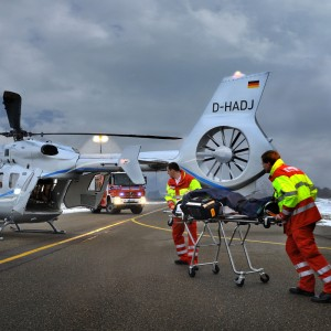 Airbus takes EC145T2 to Airmed World Congress
