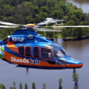 UF Health celebrates the arrival of new ShandsCair EC155