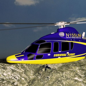 American Eurocopter ships first EC155 for UM Survival Flight to Metro Aviation for completion