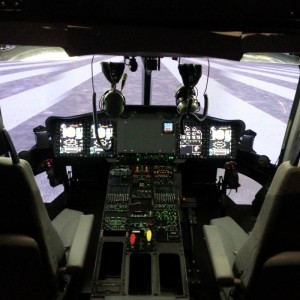 Indra working on EC175 simulator for Airbus Helicopters at Marignane