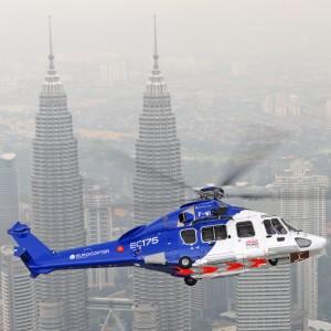 Eurocopter customer MHS praises EC175