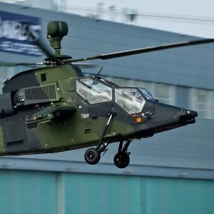 German Tiger broke up in flight before Mali crash