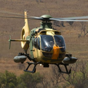 Middle East EC635 operator using Denel weapon systems