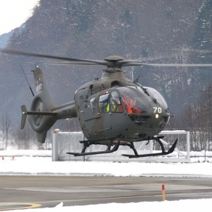 Swiss Air Force receives last of 20 EC635 Helicopters