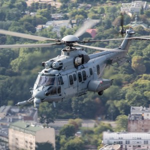 Eurocopter displays EC725 Caracal at MSPO 2013