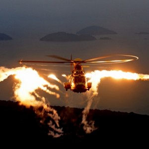 Helibras tests countermeasures system on EC725