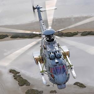 Armed EC725 undergoes flight tests