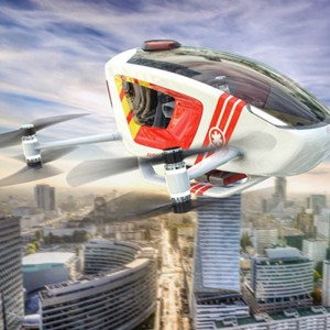 EHang Joins International Project to Develop Air Ambulance