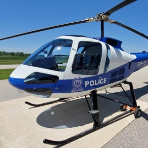 Second group of Botswana police pilots training on Enstrom 480B
