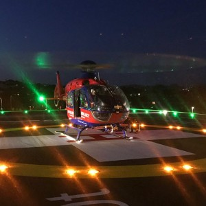 New helipad opens at Royal Devon and Exeter hospital