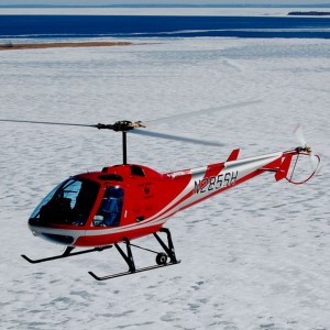 A new Enstrom 280FX for Training in France