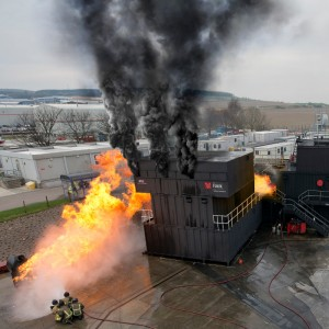 North Sea – Falck upgrades its fire training rig at Aberdeen