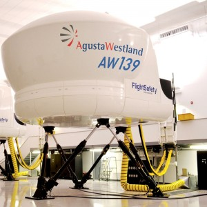 FlightSafety location in Louisiana becomes AgustaWestland Authorised Training Centre