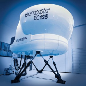 FlightSafety EC135 simulator now NVG-qualified