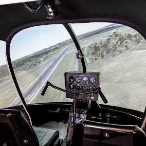 Frasca delivers R44 FTD to Chinese operator