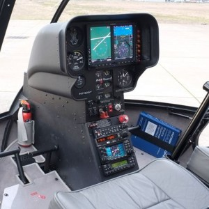 Leading Edge first to offer flight training in G500H equipped R44