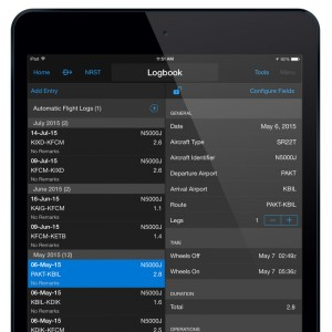 Garmin Automated Logbook Syncs Across Garmin Pilot iOS Devices and flyGarmin