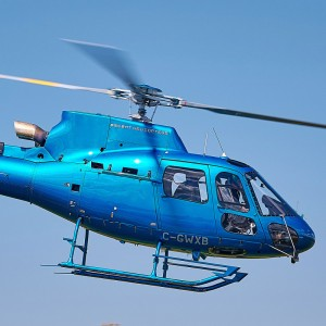 Thales and StandardAero mark first flight of 4-axis autopilot for Airbus AS350 and H125