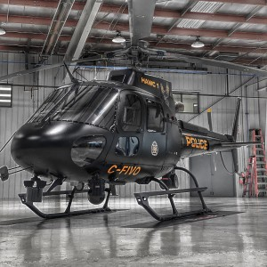 Calgary Police receives first of two H125s