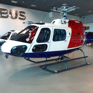 Helitrans accepts two Airbus H125s under e-delivery process