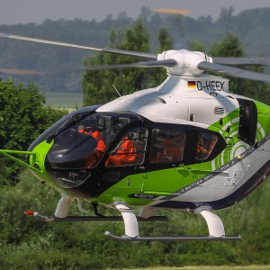 Airbus reveals H135 Bluecopter technology demonstrator