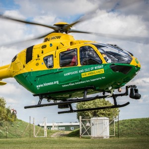 Hampshire and IOW Air Ambulance missions up 62% year-on-year