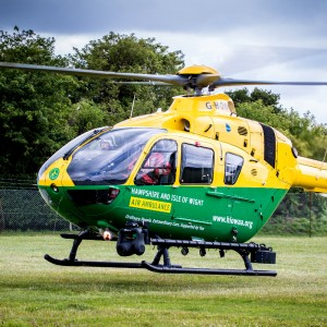 COVID-19 – Hampshire IOW Air Ambulance collaborates with Royal Air Force