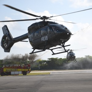 Cayman Police replace damaged EC135 wtih second H145