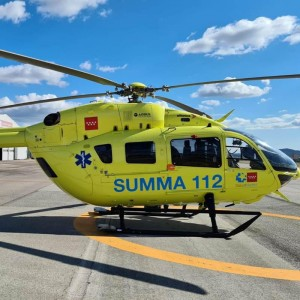 Eliance launches two H145s for Madrid EMS contract