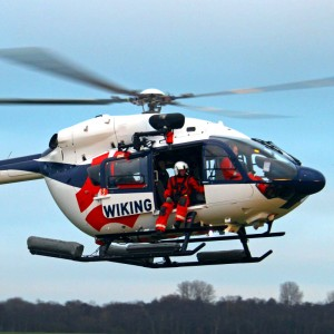 Wiking commences UK windfarm operations with H145