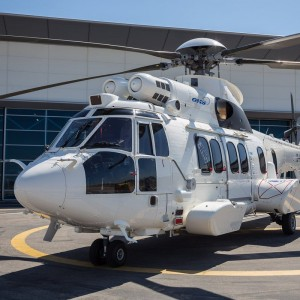 Waypoint takes leased H225 to Helitech for Airbus