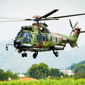 Indonesian military orders another Super Puma from local production line