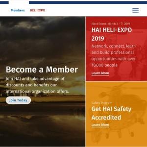 HAI enhances website with focus on members
