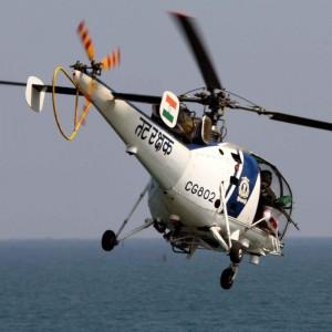 Indian Coast Guard inducts Chetak in Chennai
