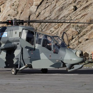 Indian Defence minister launches Light Combat Helicopter production at HAL