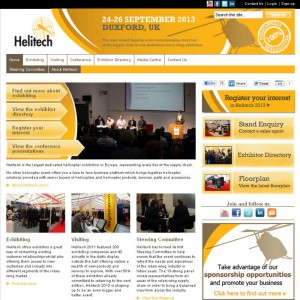 Helitech launches new show website for 2013