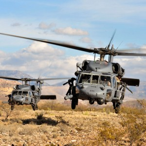 First two HH-60G Pave Hawks achieve 10,000 hours