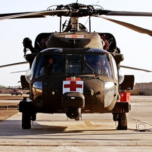 Vermont National Guard testing HH-60M in Iraq