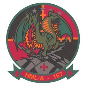 HMLA-167 celebrates 45 years of warfighting