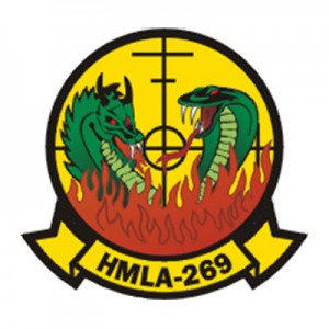 US Marines HMLA-269 receives new leadership