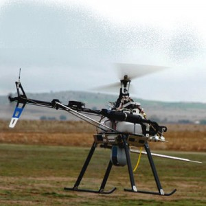 Aragon pioneers Spain's use of unmanned helicopters for firefighting