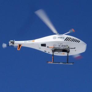 Indra flies unmanned Pelicano in Segovia