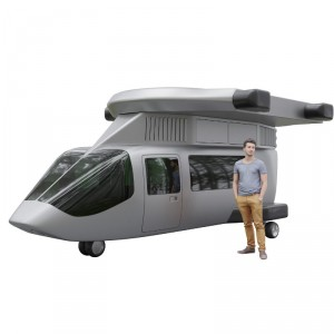 JETcopter finalizes 7-seat flying car design