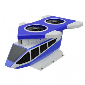 Jetcopter VTOL urban air taxi to be shown at Aero Friedrichshafen