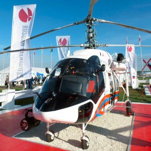 Russian Helicopters showcases new Ansat and Ka-226T at EMS event
