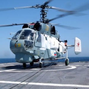 Russian Helicopters ready to equip Indian aircraft carrier