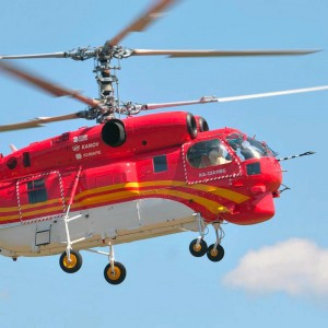 Russian Helicopters deliver Ka-32A11BC to Shanghai