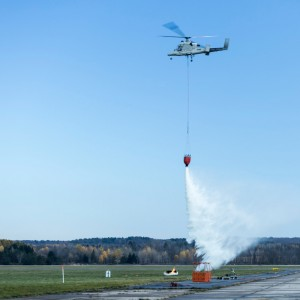 Kaman Nears Reopening of K-Max Production Line; 2nd Unmanned Fire Fighting Demo Planned