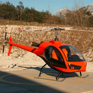 Konner – the sleek new two-seat Italian helicopter