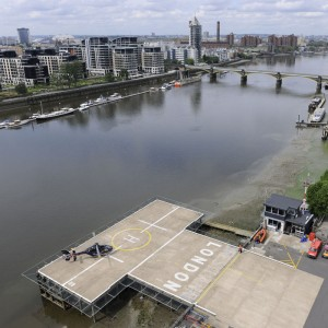 NetJets London Heliport – the new name for Battersea